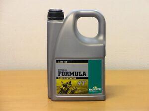9-23-l-Motorex-Formula-4T-15W-50-4-L-teilsyn-4-Takt-Motorol