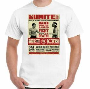 BLOODSPORT T-SHIRT Kumite Fight Tournament Jean Claude Van Damme MMA Karate TEE