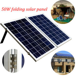 80w 100w 120w Portable Folding Solarkoffer Photovoltaik