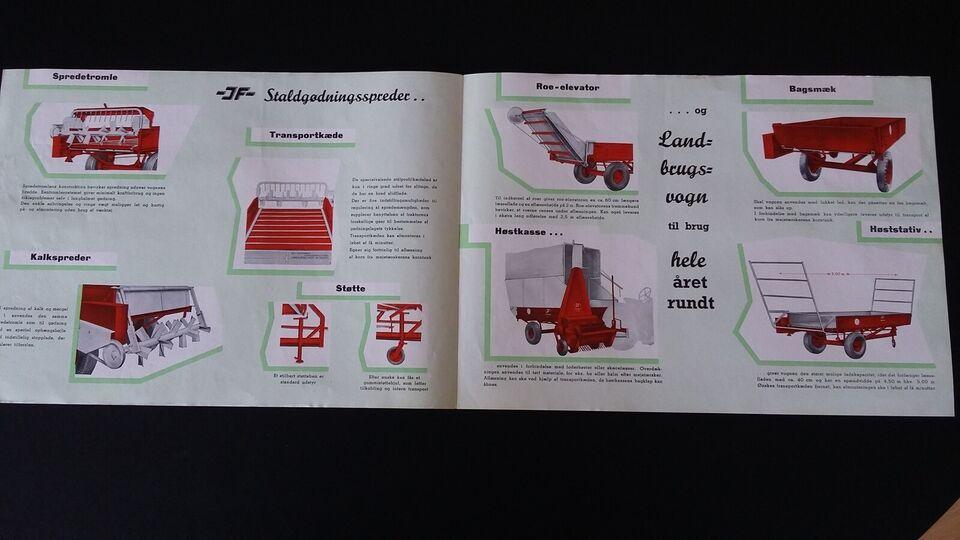Andre samleobjekter, JF Brochurer