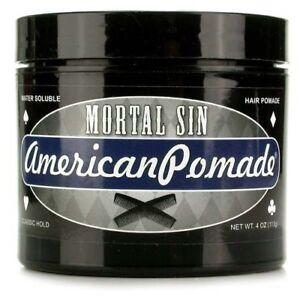 American Pomade Mortal Sin Water Based Hair Pomade