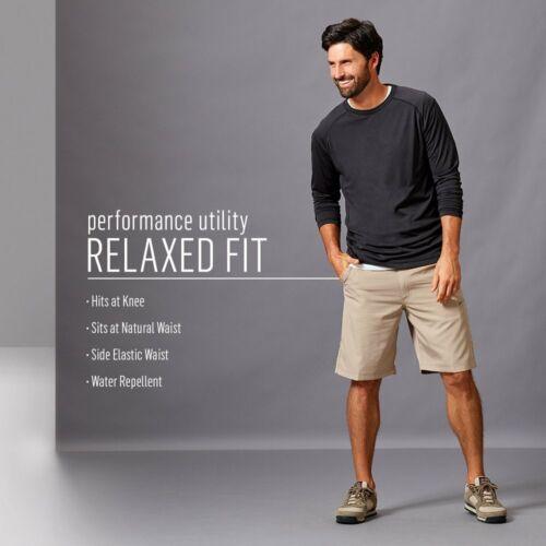 Wrangler Men/'s Performance Side Elastic Utility Short
