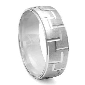 Image Is Loading Men 039 S Fancy Designer Diamond Cut Wedding