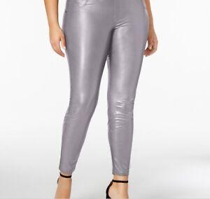 9265c3618274c3 Hue Women's Plus Size Faux Leatherette Leggings Size 1X 888172388726 ...