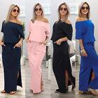 Femmes Été Boho Robe Maxi Longue Soirée Cocktail Plage Robes Robe De Soleil
