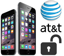 FACTORY UNLOCK SERVICE IPHONE 3 3GS 4 4s 5 5s 6 6+ 6s 6s+ AT&T IMEI ONLY