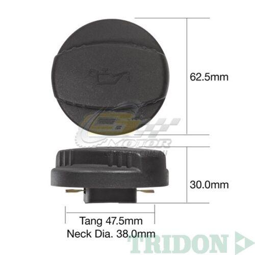 TRIDON OIL CAP FOR Mercedes ML320 W163 09//98-11//01 V6 3.2L M112 SOHC 18V