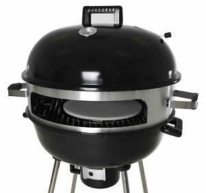 "Zenvida Outdoor Pizza Oven / Kettle Grill 22.5"" Charcoal Wood Portable BBQ"
