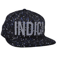 Dope Couture Rare Spaced Out 3m Paint Speckle Indica Weed 420 Plant Snapback Hat on sale