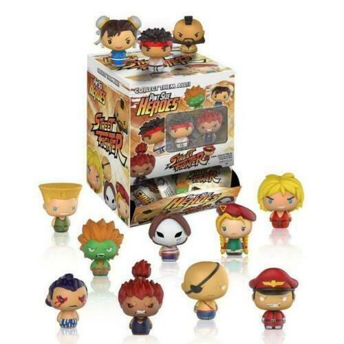 Funko Pinte Taille Heroes Street Fighter aveugles Sacs Neuf Scellé Stocking Filler