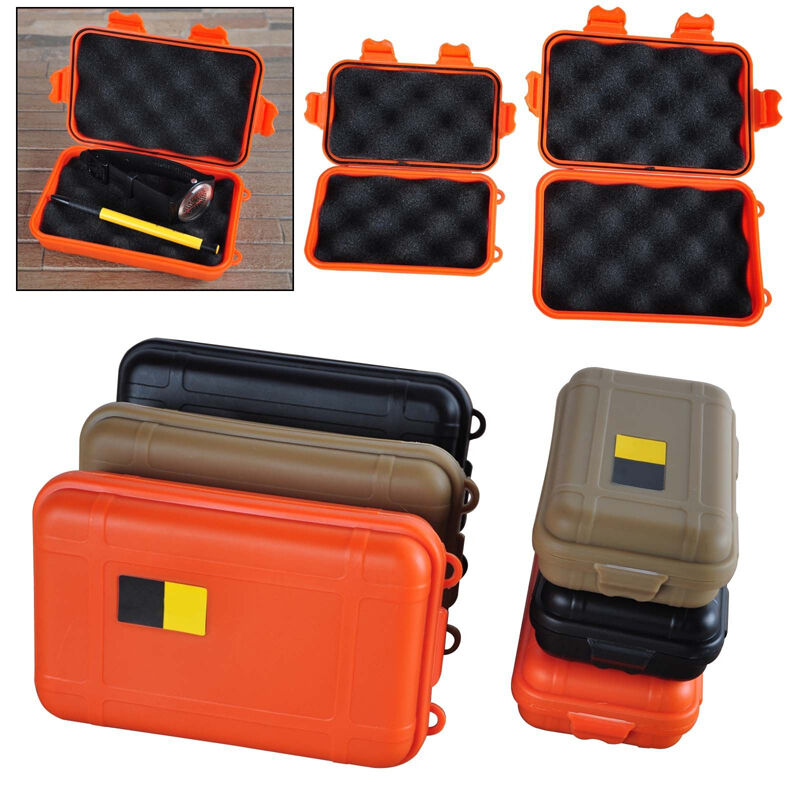 Portable Dry Waterproof Storage Carry Box Hunting Camping Fishing Survival Case