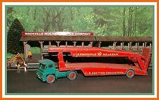 Vintage Matchbox N0.8 _ Guy Warrior _ Car Transport Tractor Trailer