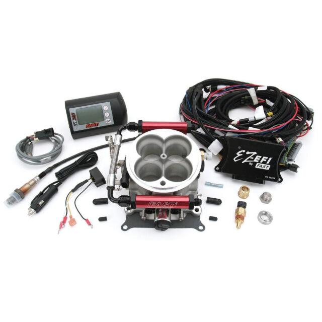 FAST 30226-KIT Universal Throttle Body TBI EZ-EFI Carb to Fuel Injection Kit