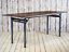 Vintage Industrial Mid Century Folding Cafe Bar Dining Kitchen Table