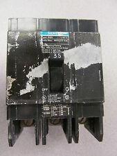 ITE Siemens BQD BQD335 3POLE 480Y//277V 35 AMP CIRCUIT BREAKER