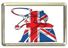 Union Jack Sherlock Holmes Fridge Magnet - Best of British