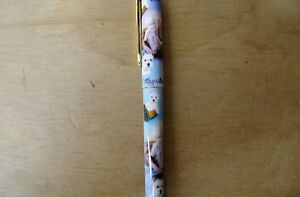 New Roller Ink Pen Decorated With West Highland Terrier Dogs((WEH-IP)