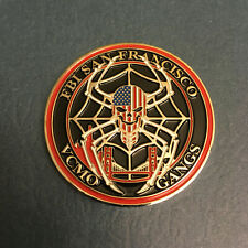FBI Challenge Coin - San Francisco Field Office - VCMO - GANGS