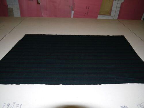 """2 M Longueur bleu marine//vert//blanc Carreaux Large 60/"""" Brossé 1 côté doux tissu de laine"""