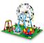 Sembo-Blocksteine-Riesenrad-Freizeitpark-Figur-Spielzeug-Modell-Geschenk-447PCS Indexbild 1