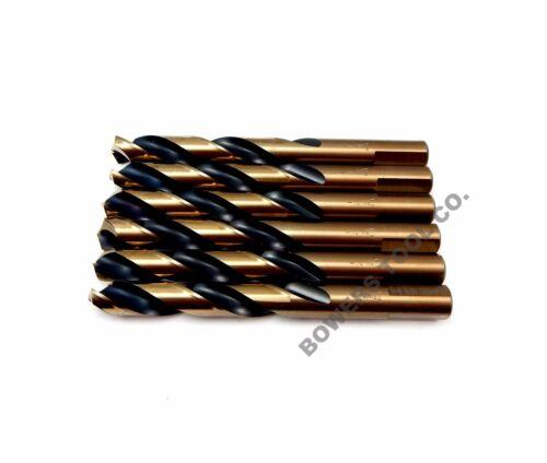 "Norseman Viking 29//64/"" Mechanic Length HI-Molybdenum M7 Drill Bit 6-Pack 87170"