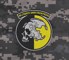 METAL GEAR SOLID PATCH MGS PEACE WALKER MILITAIRES SANS FRONTIERES PATCH HOOK BK
