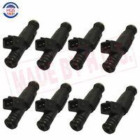 Set (8) High Impedance 80lb Ev1 Fuel Injectors Fit Mustang V8 Lt1 Ls1 Ls6 835cc