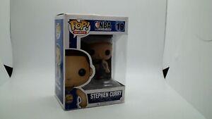 Funko POP! STEPHEN CURRY #19  NBA  GOLDEN STATE WARRIORS  DAMAGED BOX