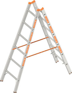 Layher Topic 2x6 Sprouts steppladder 1039 Alloy Ladder