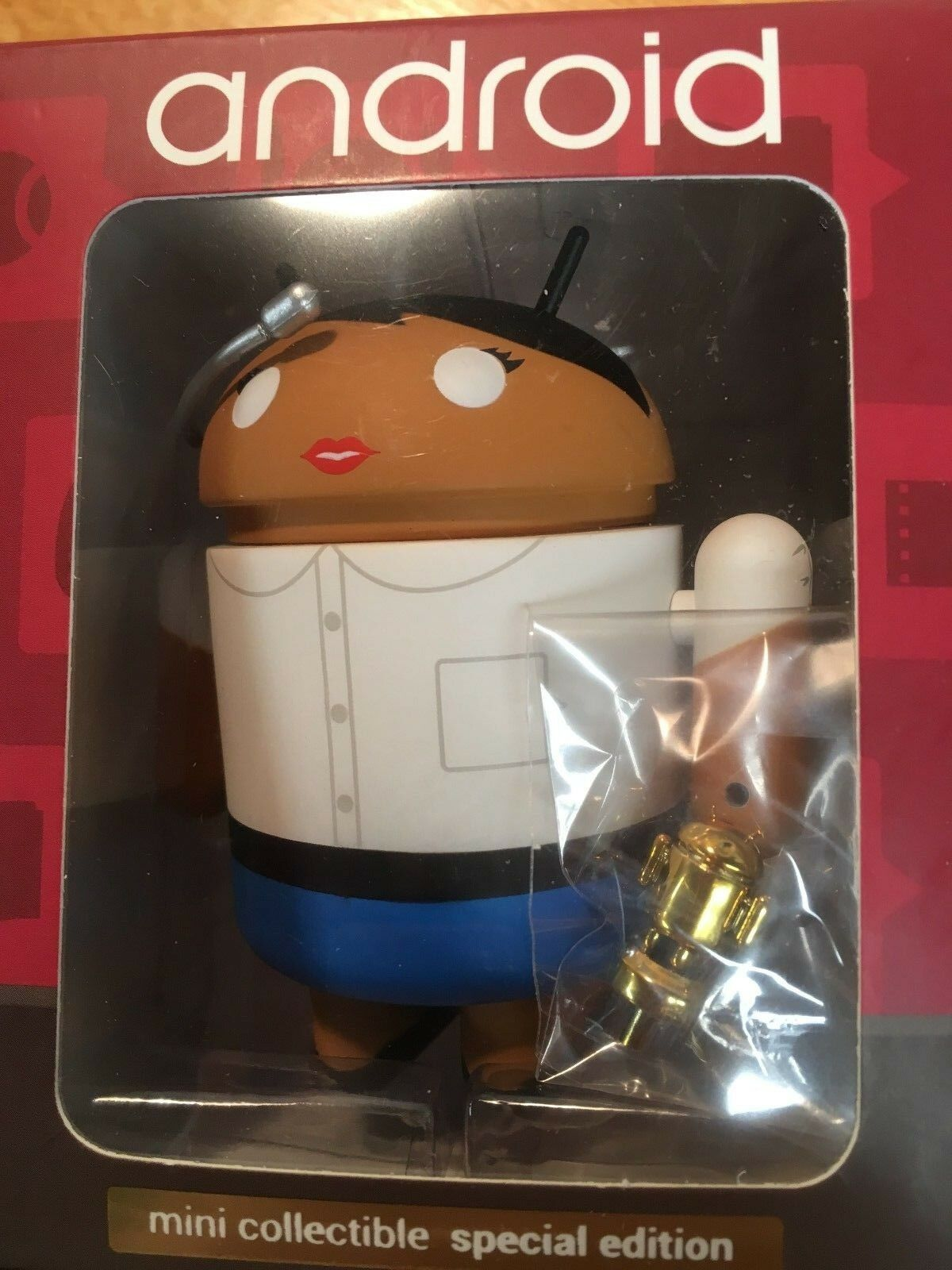 Google Mini Collectible Special Edition  Talks at Google  Figurine NEW
