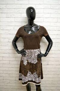 Vestito-DESIGUAL-Tajer-Donna-Woman-Taglia-L-Abito-Dress-Cotone-Woman-Tubino