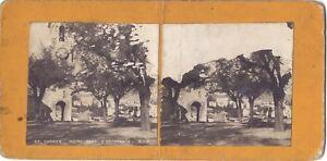 Cannes Nostra Signora di Speranza Francia Stereo Vintage Analogica Ca 1900