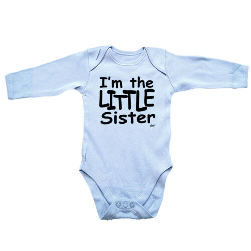 Im The Little Sister Funny Baby Infants Babygrow Romper Jumpsuit