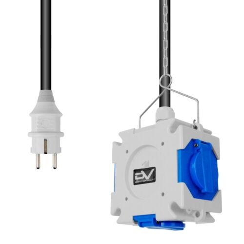 XYZ Energiewürfel mDV franz//belg System 3x230 Kabel Stecker Mennekes 2657 XYZ