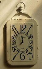 orologio da parete in metallo london cm 44 x 24 x 2,5 etnico