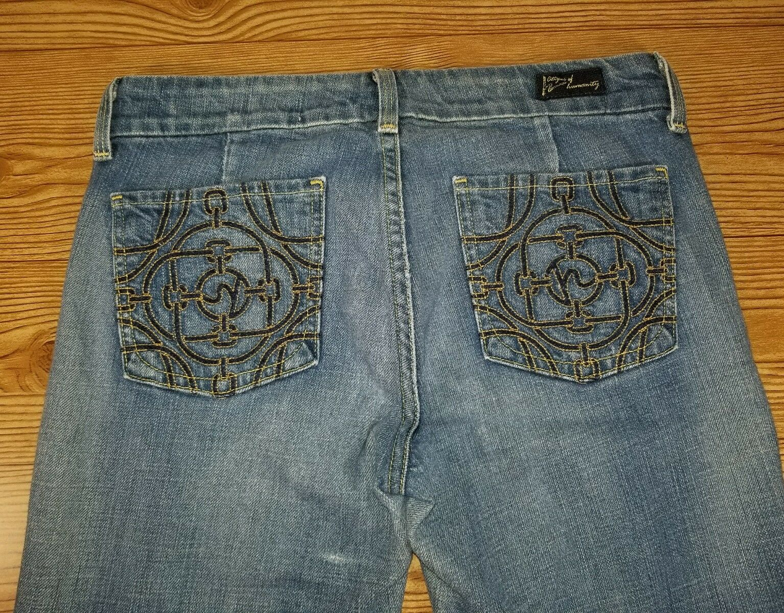 Citizens of Humanity women Jeans size 28  rise 7.5 (28x32) good condition P009
