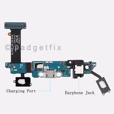 Samsung Galaxy S6 G920P Headphone Jack Charger Port Home & Sensor Key Mic Flex