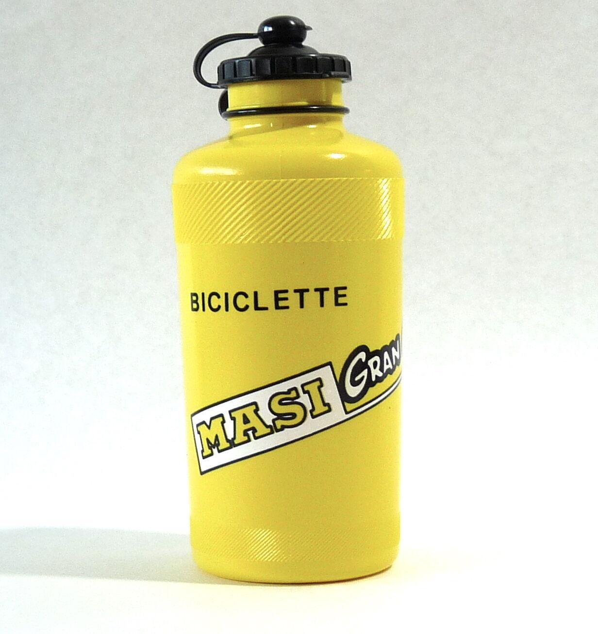 Masi Gran Criterium Water Bottle SET Ale Yellow H2O Sammontana Bike PAIR OF 2