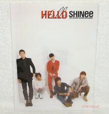 Korea SHINee Vol. 2 LUCIFER Hello Taiwan Promo Folder (ClearFile)