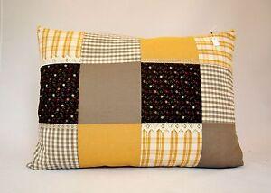 Divano Letto Patchwork : Cuscino decorativo divano cucina letto country arredo cotone