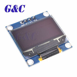 """0.96/"""" Yellow Blue SPI 128X64 OLED LCD Display Modul Arduino//STM32//AVR//51"""