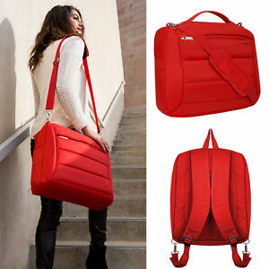 Nylon Women s Laptop Shoulder Bag Backpack For 15.6
