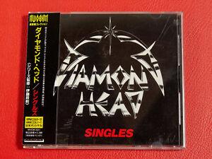 DIAMOND HEAD Singles MVCM-321 JAPAN CD w/OBI 18367