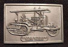 Caterpillar Tractor Vintage Belt Buckle *Nice*