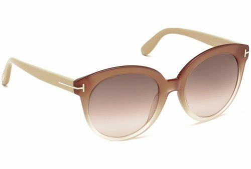 33deaab7abaaa Tom Ford Sunglasses TF 429 Monica 74f Beige Pink Brush 54mm for sale online
