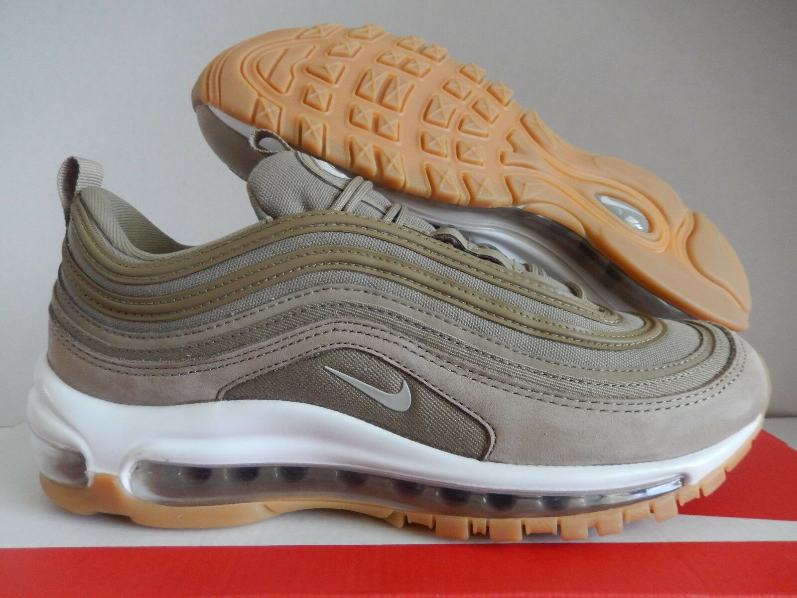 Wmns nike air max 97 ut khaki-light osso sz 8 [aj2248-200]