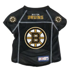 Boston-Bruins-NHL-LEP-Mesh-Dog-Jersey-Officially-Licensed-Sizes-XS-XL