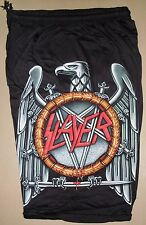 Slayer Thrash Metal Band Eagle Logo Cotton Shorts Free Size Bermudas New!