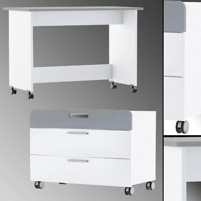 Möbel Schreibtische & Computermöbel Qualifiziert Filou Schreibtisch Und/oder Kommode Rollen Schubladen Container Schrank Kinder