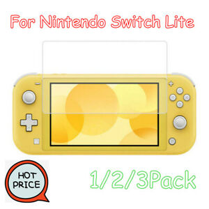 Tempered-Glass-For-Nintendo-Switch-Lite-Premium-9H-Screen-Protector-Film-Lot-aa